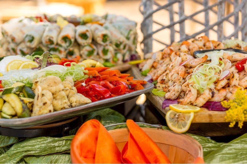 shrimp-appetizers-display
