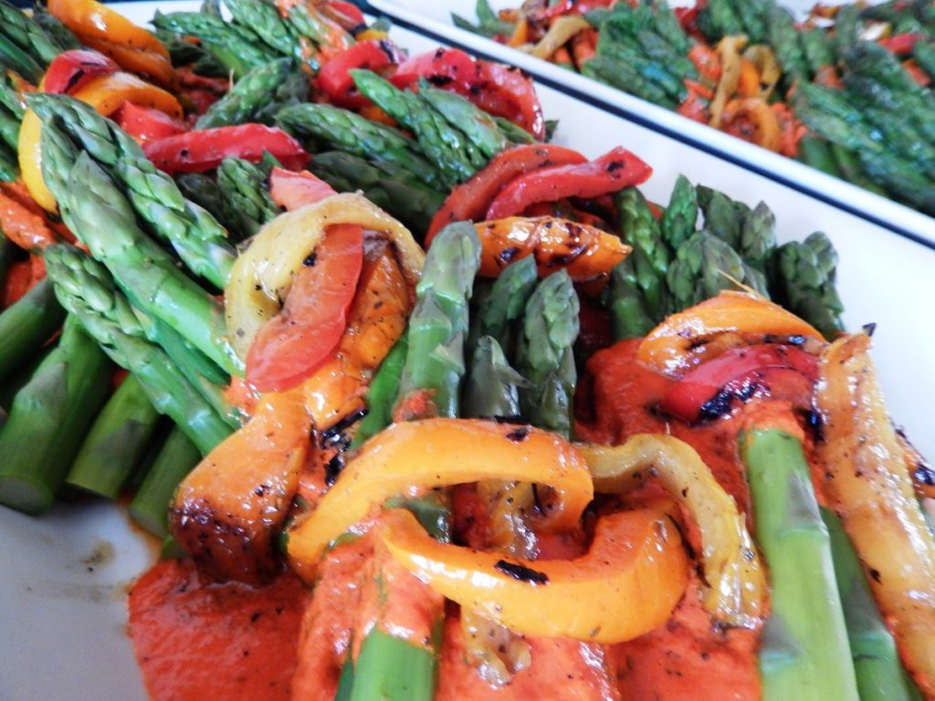 side asparagus
